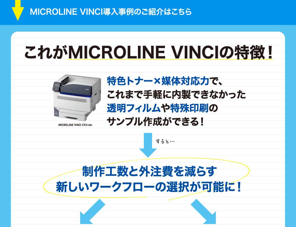 MICROLINE VINCI導入事例のご紹介はこちら
