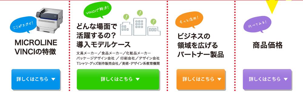 MICROLINE VINCIの特徴、モデルケース、パートナー製品、商品価格
