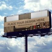 屋外看板広告