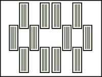 プリントヘッド配列イメージ