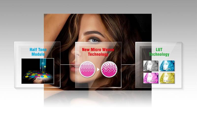 高画質を実現する「Epson Precision Dot」