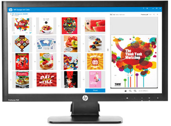 HP DesignJet Click printing software