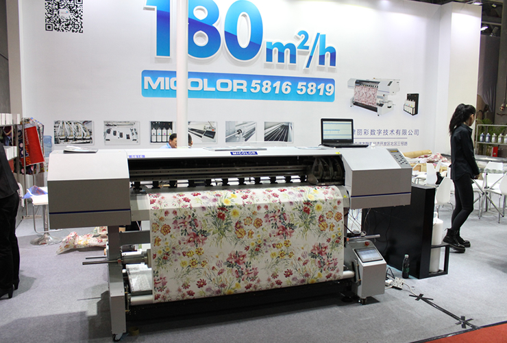 180㎡/hのハイスピード印刷機