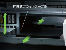高さを自動で調節するセンサーを搭載