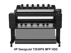 HP DesignJet T2530PS MFP HDD