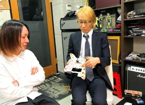 代表取締役の峯村様(右)と津布久様(左)