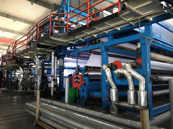 ターポリン製造工程