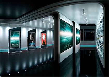 新開発の電飾フィルム専用設定で表現力が向上