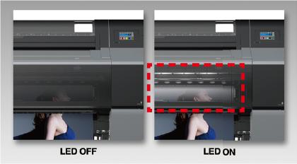 LEDライト搭載