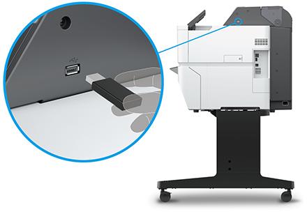 スキャン to USBメモリー機能/USBメモリーダイレクト印刷対応