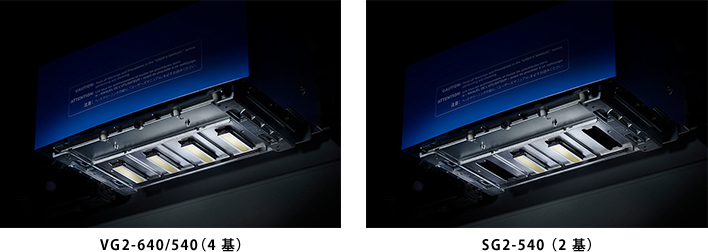 ・VG2-640/540(4 基)・SG2-540 (2 基)