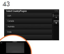 お住まいの国/地域を選択して、確認します。