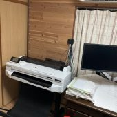 DesignJet T530 A1モデル 型紙印刷に