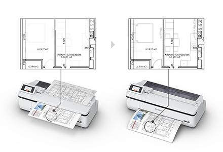 CAD用途でのスキャン・コピー
