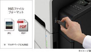 USBメモリーからのダイレクト印刷TZ